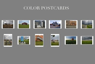 Color postcards